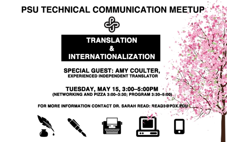 PSU Flyer for May Meetup 2