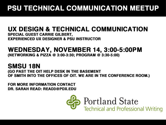 PSU TECH PRO MEETUP November